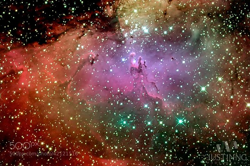 Photograph Eagle Nebula (M16) by Justin Ng on 500px