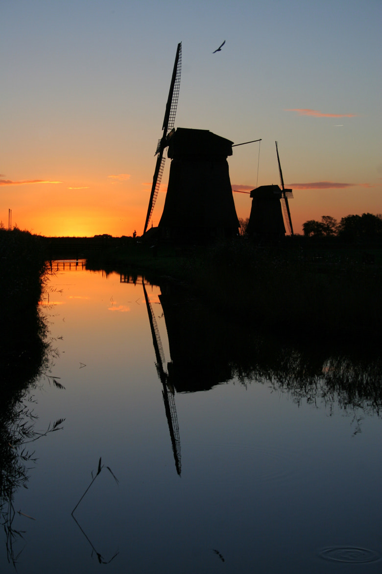 Photograph Silhouet of the Windmill by Lorenz Kort on 500px