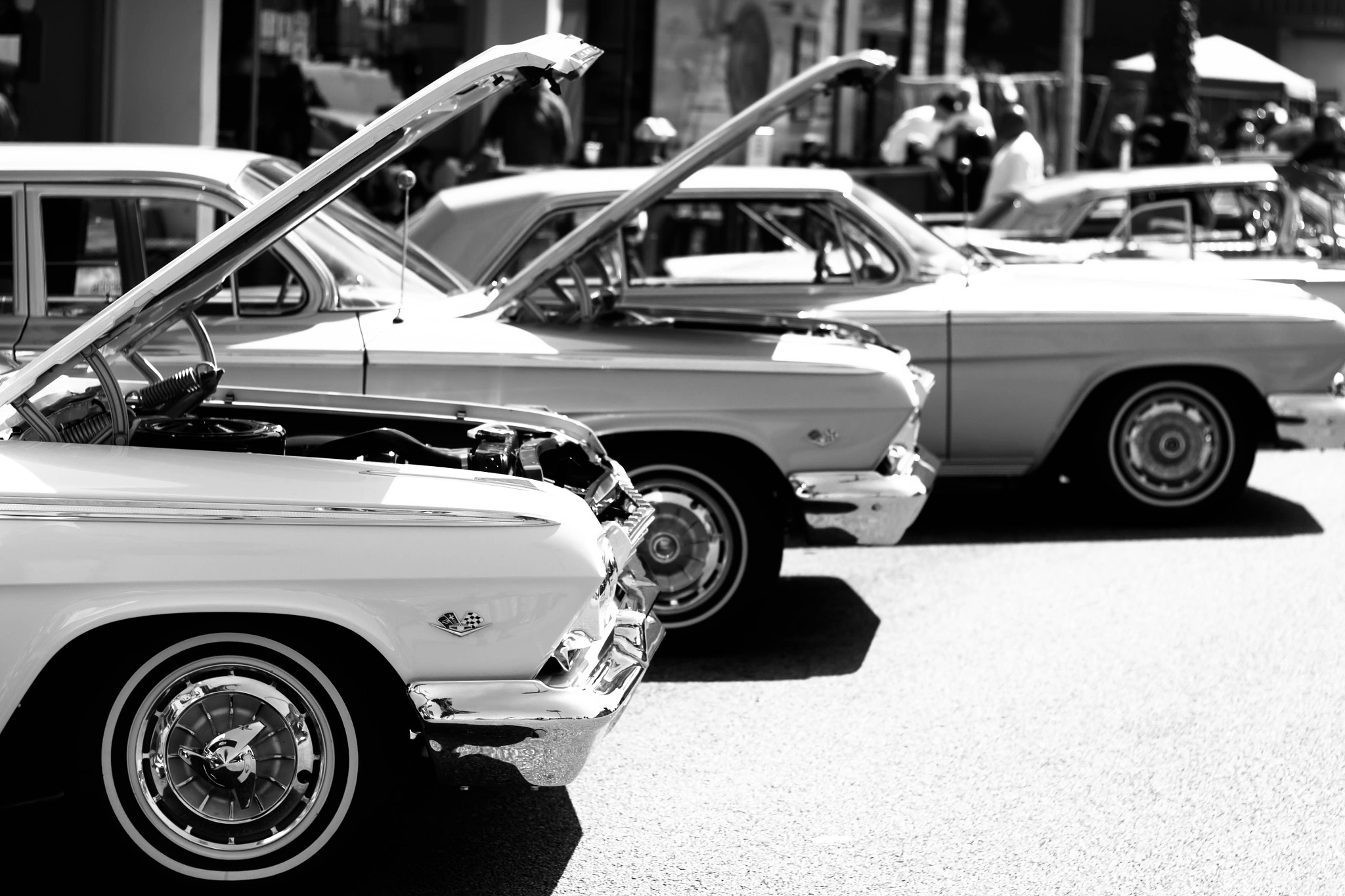 Photograph '64 Impalas by Robb Smooth on 500px