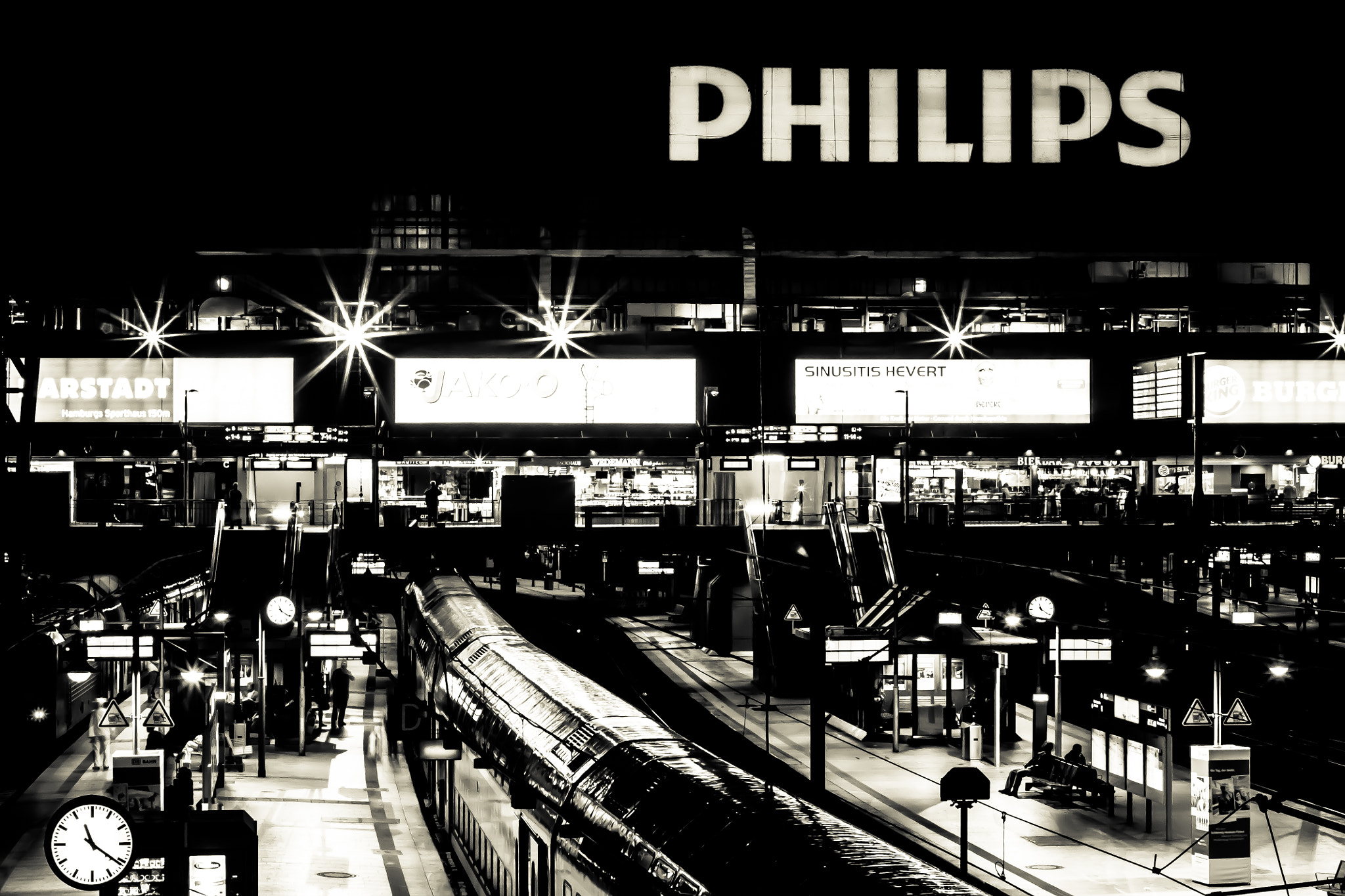 Photograph Train Station by Dan Alexandru on 500px