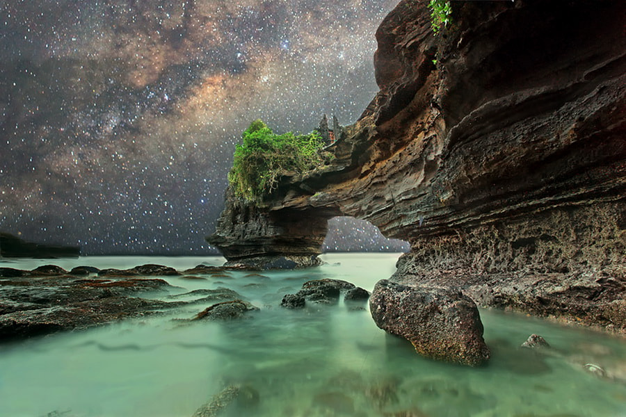 Photograph Stary Night by Agoes Antara on 500px
