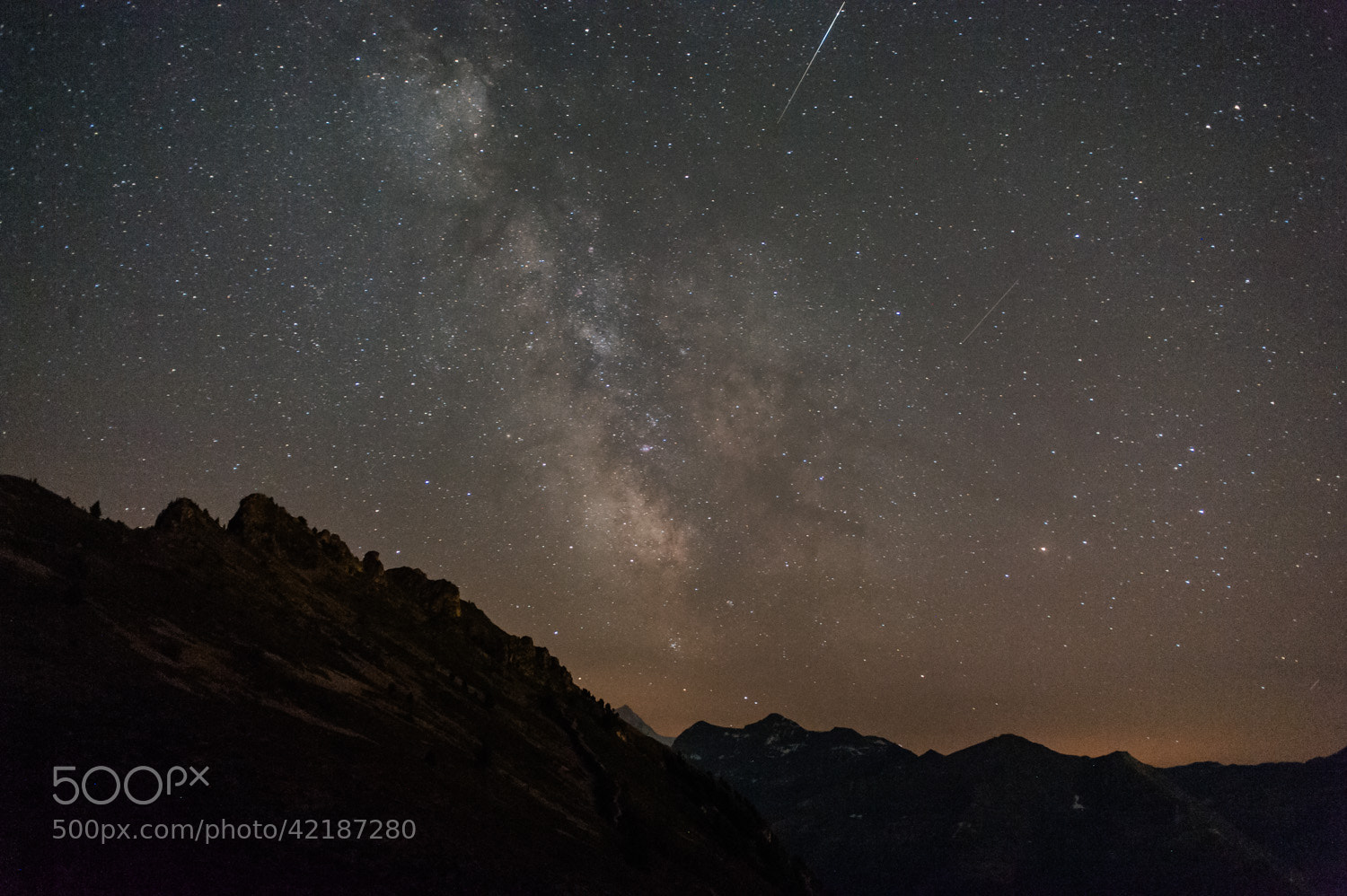 Photograph Milky way by Raphaël Dupertuis on 500px