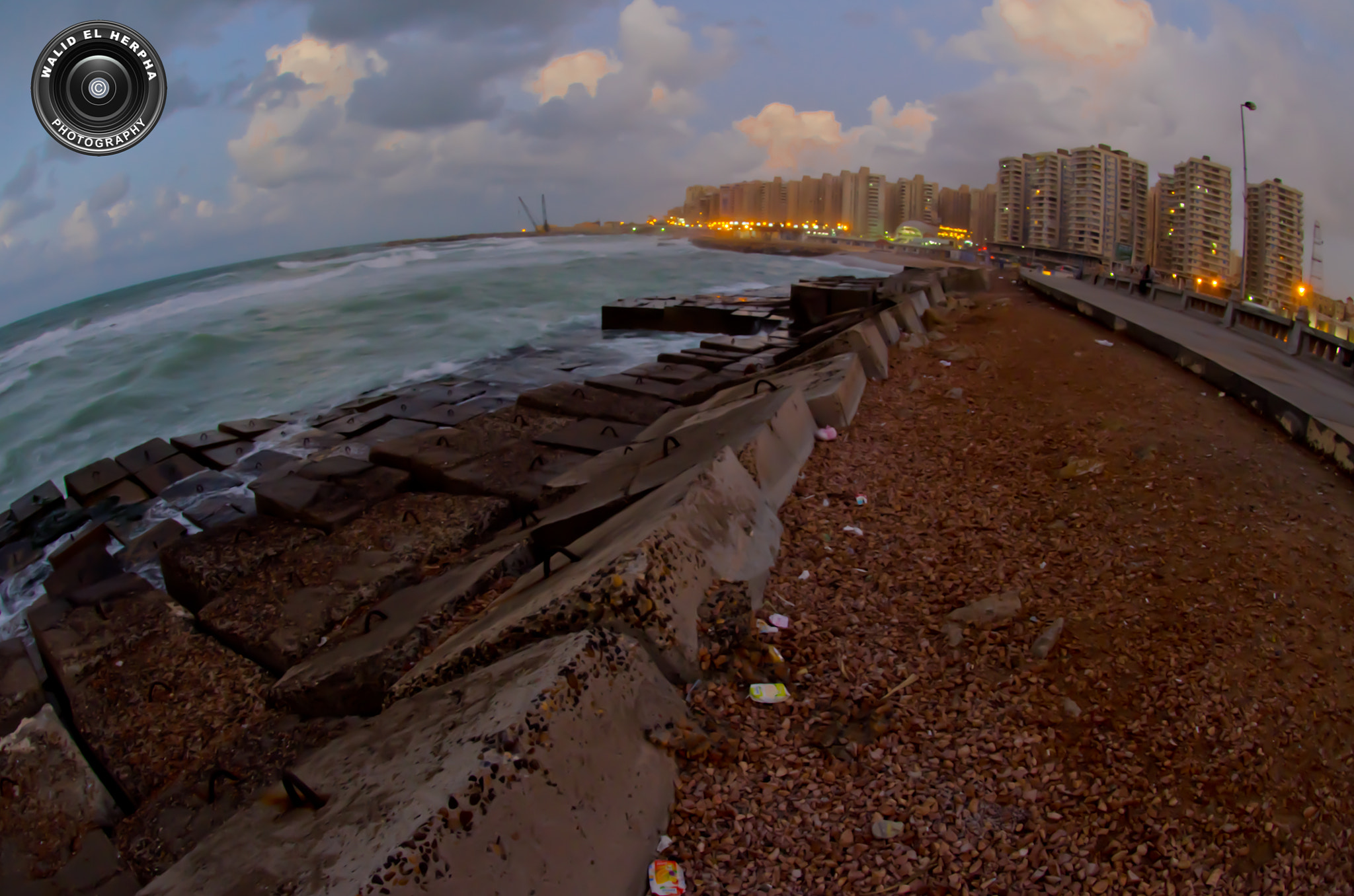 Photograph Alexandria FIsheye by Walid EL Herpha on 500px
