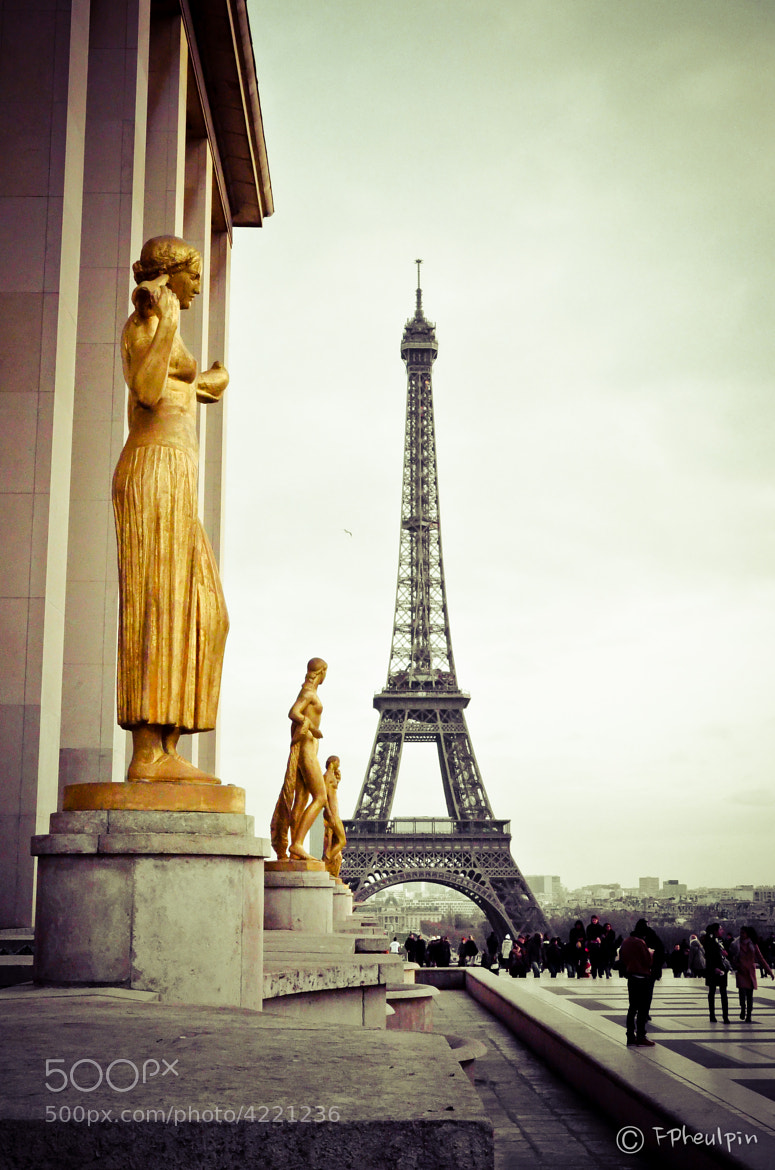 Photograph Golden Statues by Francois Pheulpin on 500px