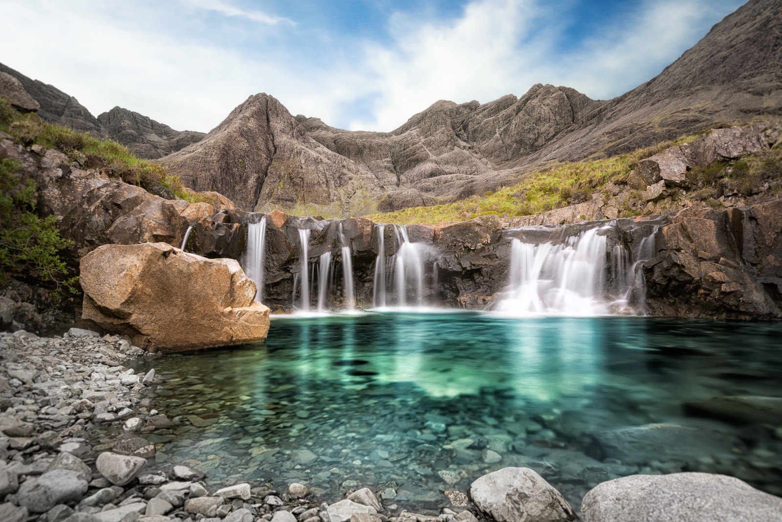 Photograph The Fairy Pools by Martin Müller on 500px