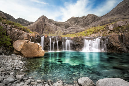 The Fairy Pools by Natta Summerky on 500px