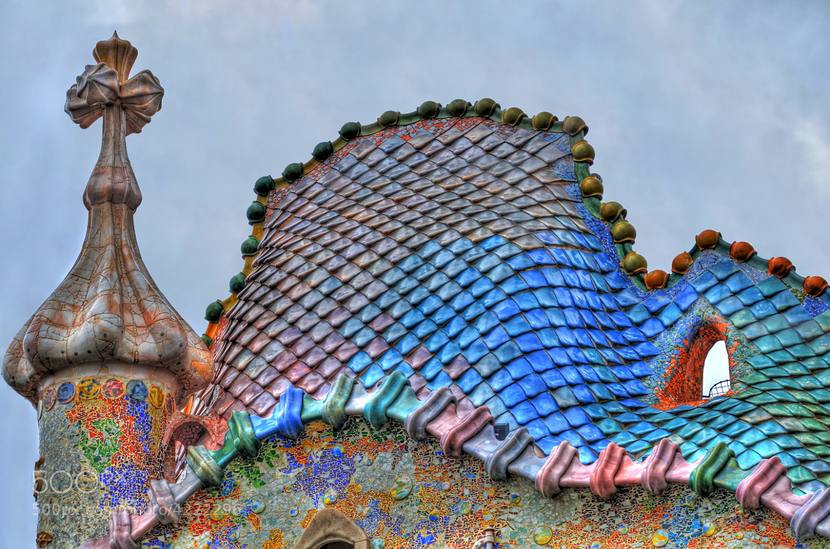 Photograph Casa Batlló's Roof (HDR) by Mark Millan on 500px