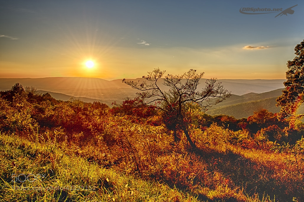 Photograph Sunset in Shenandoah by Darek Siusta on 500px