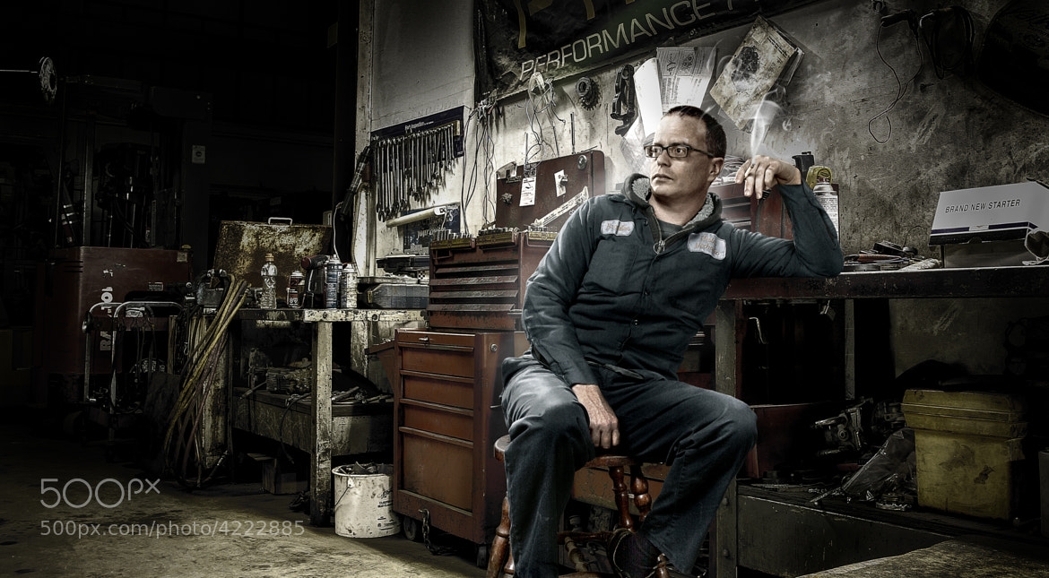 Photograph Mr.Mechanic by Aaron P on 500px