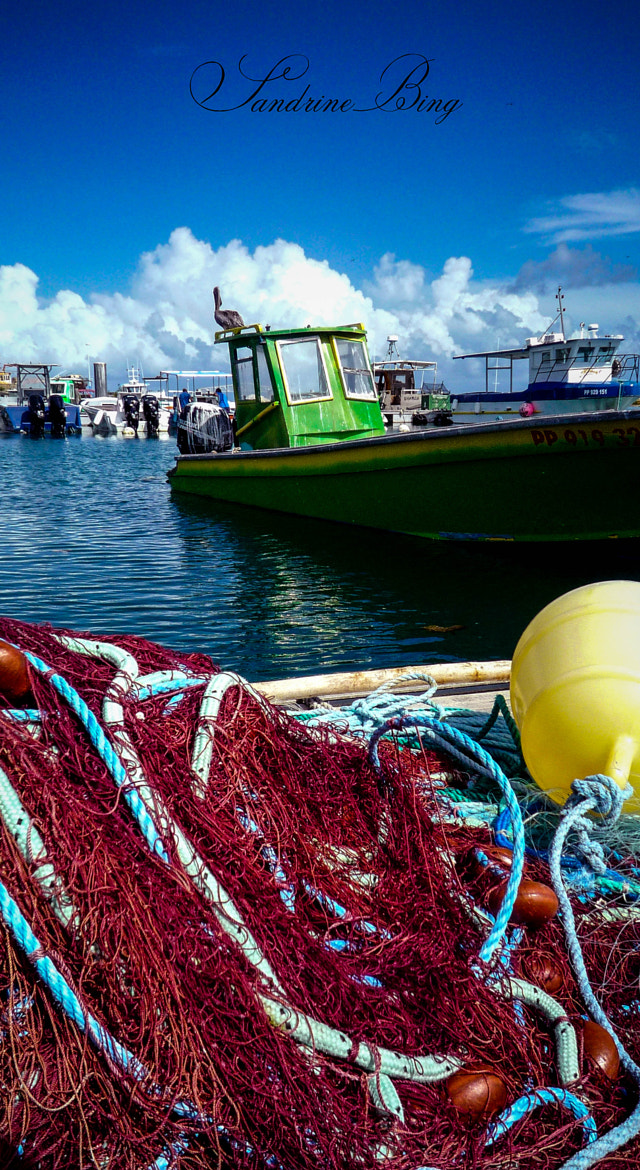 Photograph Fishing port by Sandrine Bing on 500px