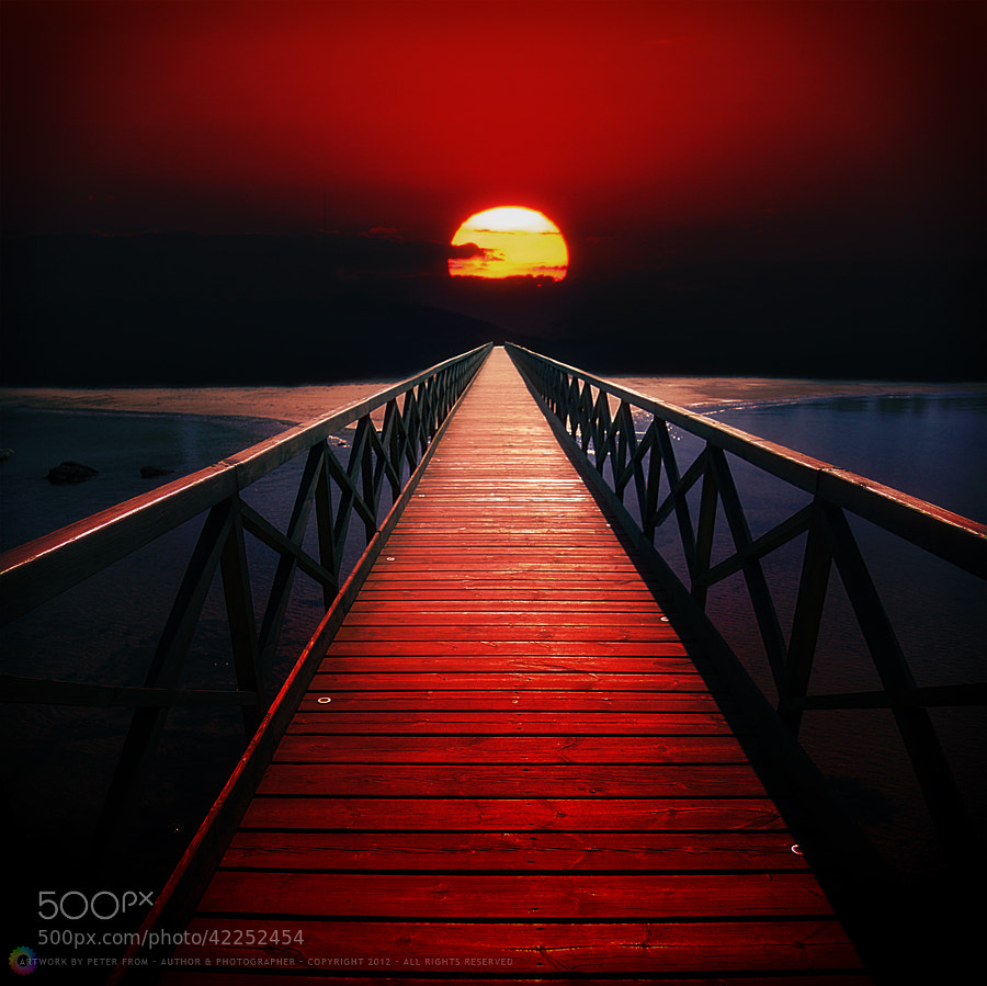 Blood Red Sky by Peter From on 500px.com