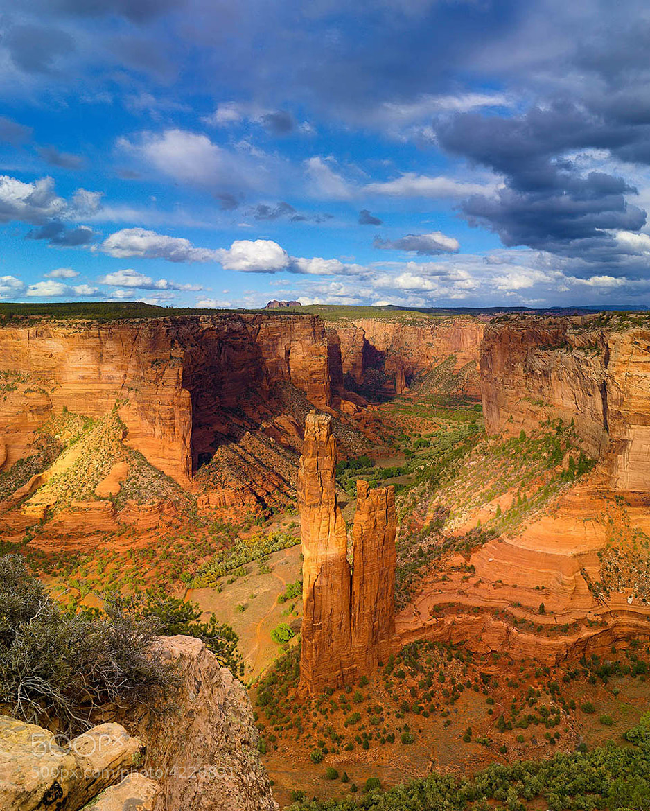 Photograph Spider Rock by Doug Dolde on 500px