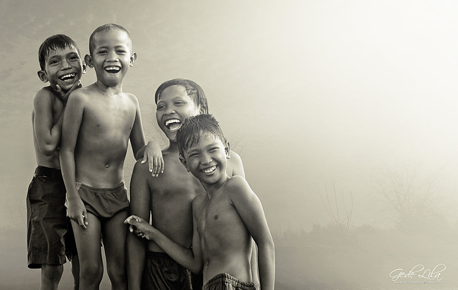 Photograph Let's Laugh Together by I Gede Lila Kantiana on 500px