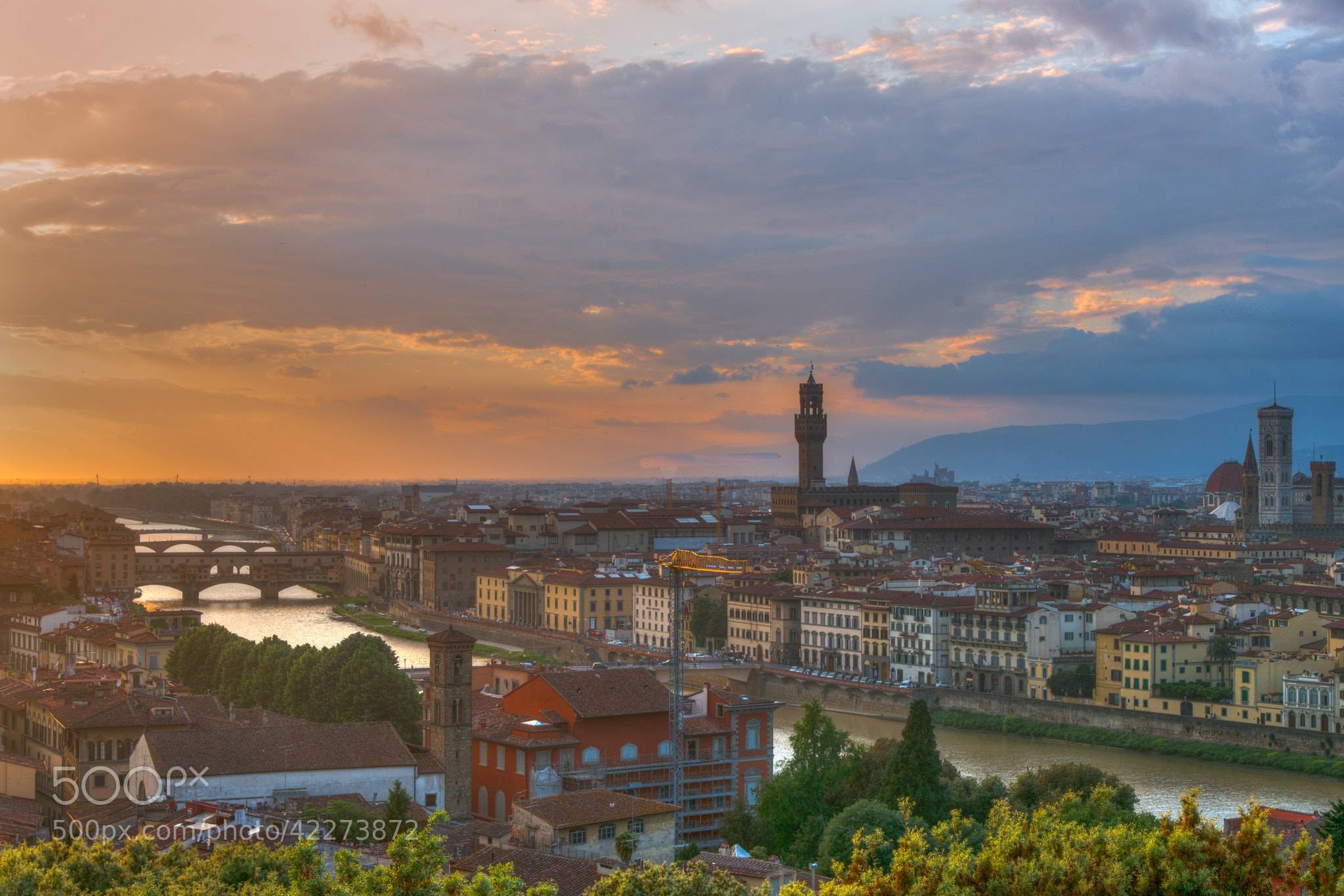 Photograph Sunset in Florence by Stephen Album on 500px
