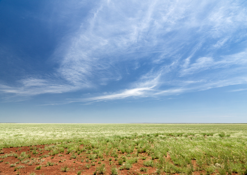 Driving along the Gibb River Rd in North West Australia.