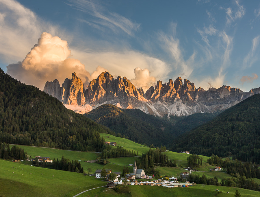"""<a href=""""http://www.hanskrusephotography.com/Workshops/Dolomites-Sep-29-Oct-3-2014/29524485_nXxTwc#!i=2677251449&k=rTn745R&lb=1&s=A"""">See a larger version here</a>  This photo was taken during a photo workshop in the Dolomites October 2012."""