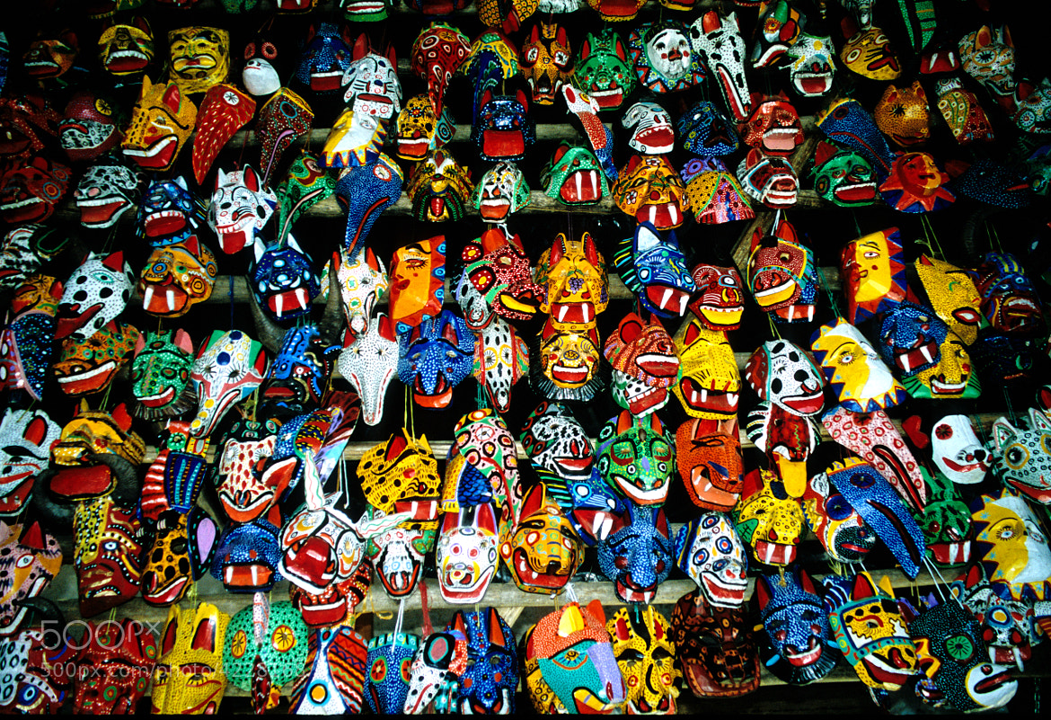 Photograph Wall of Masks by Jim Slagle on 500px