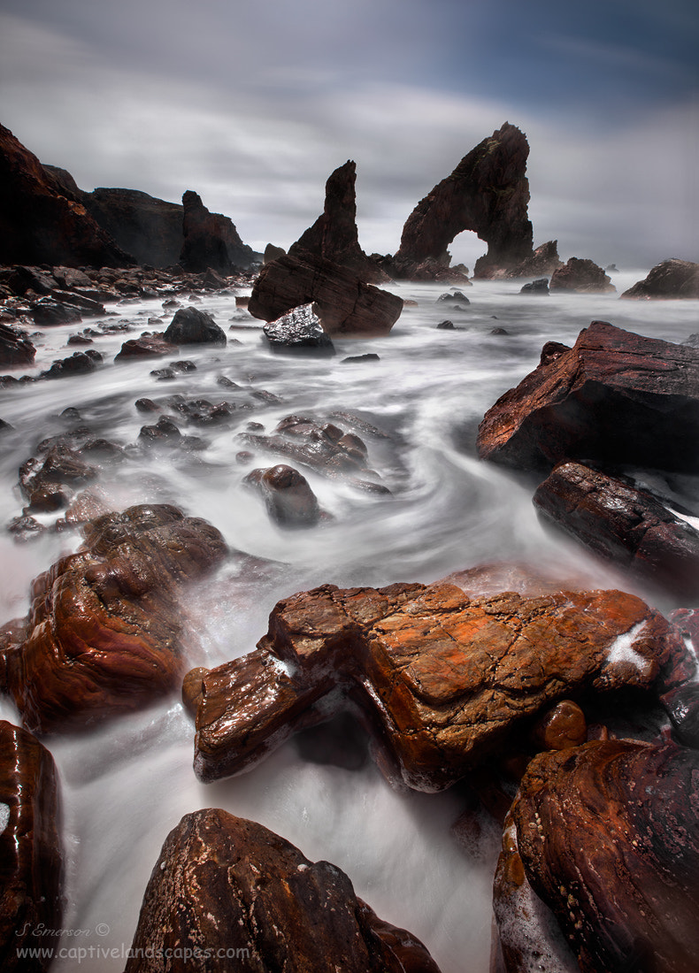 Photograph Sculpted Rocks by Stephen Emerson on 500px