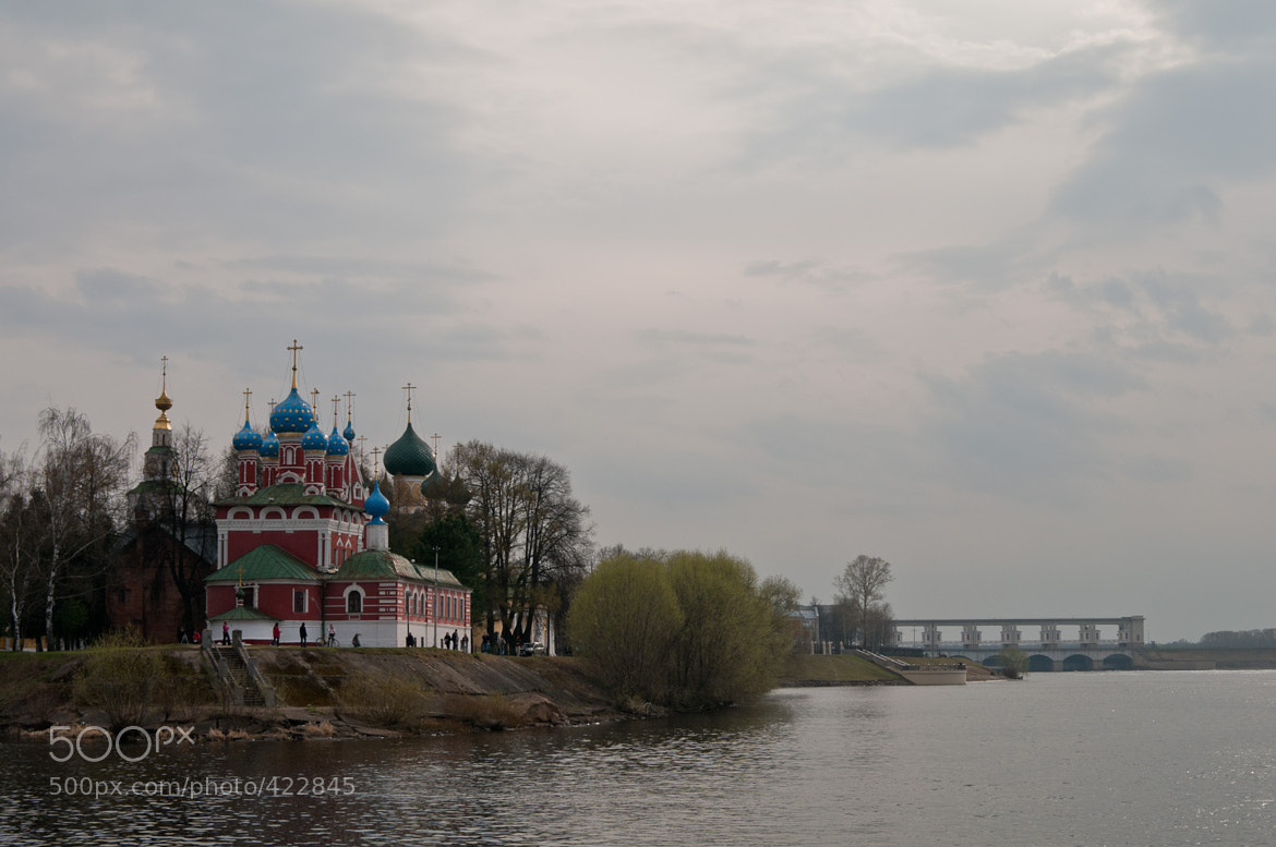 Photograph Churches ashore the river Volga by Nickolay Belostotsky on 500px