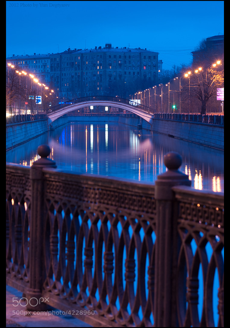 Photograph Moscow. Rubtsov bridge. by Yuri Degtyarev on 500px