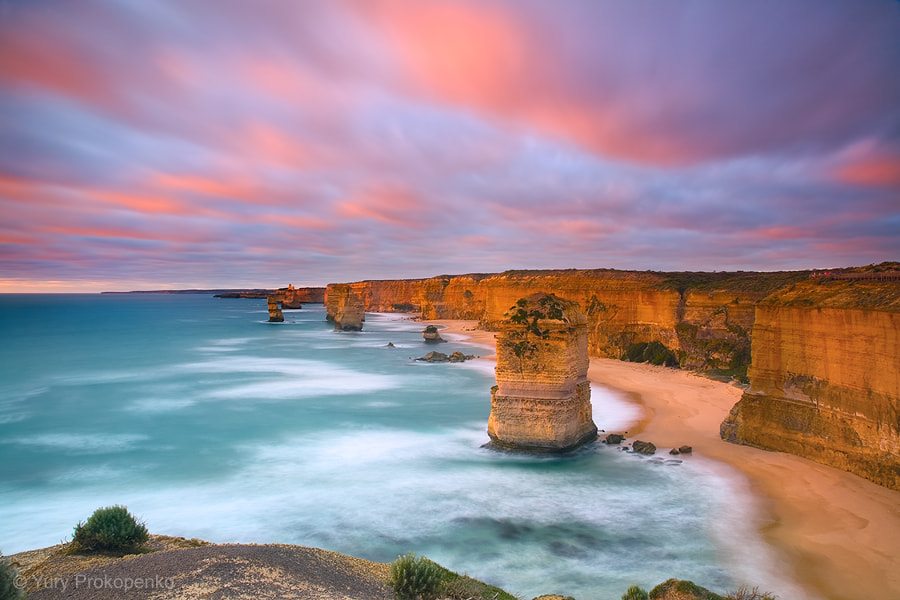 Photograph Sunset at Twelve Apostles by Yury Prokopenko on 500px