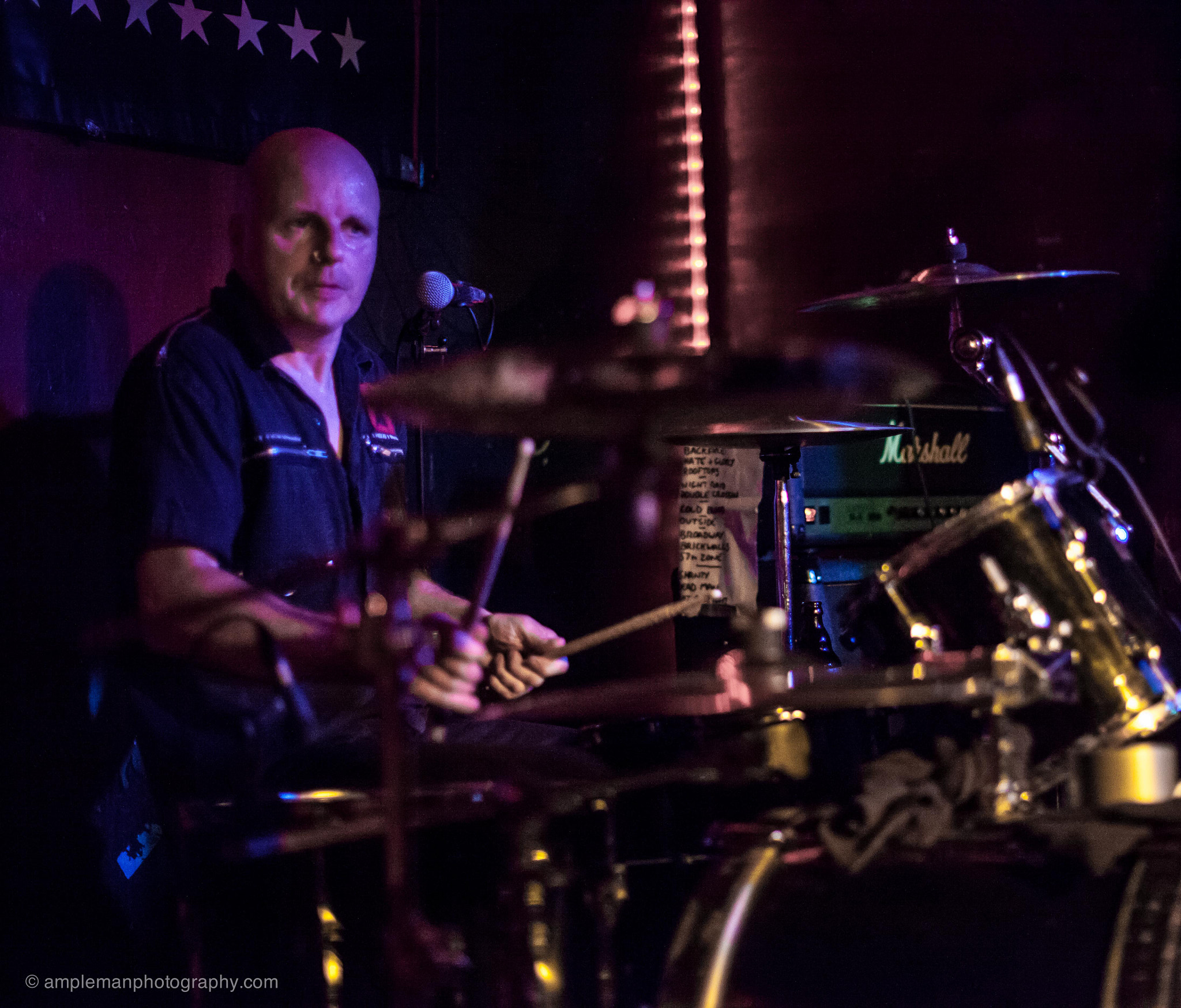 Photograph Hi-Fi Spitfires - Punk Rockers, Live at Wild at Heart, Berlin by Ampleman Photography on 500px