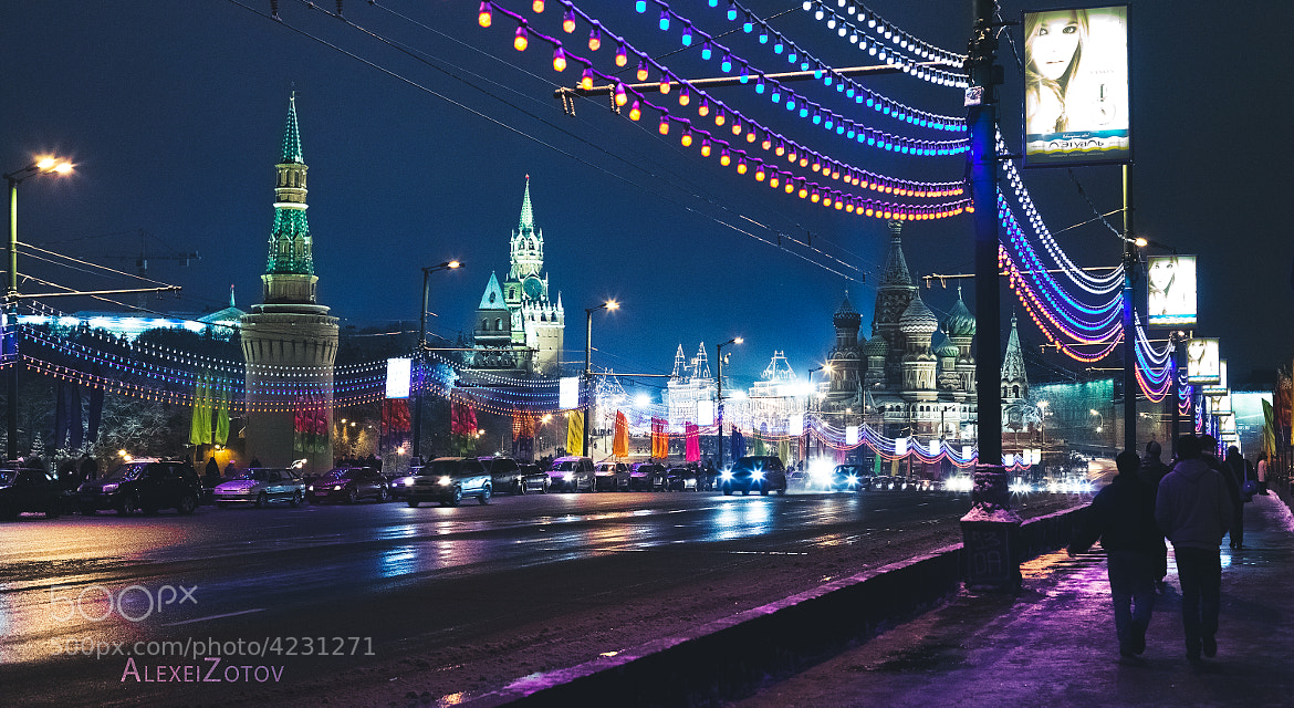 Photograph Moscow 01 01 2012 by Alexei Zotov on 500px
