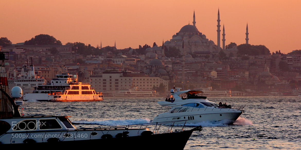 Photograph Istanbul evening by Emin Kucuk on 500px