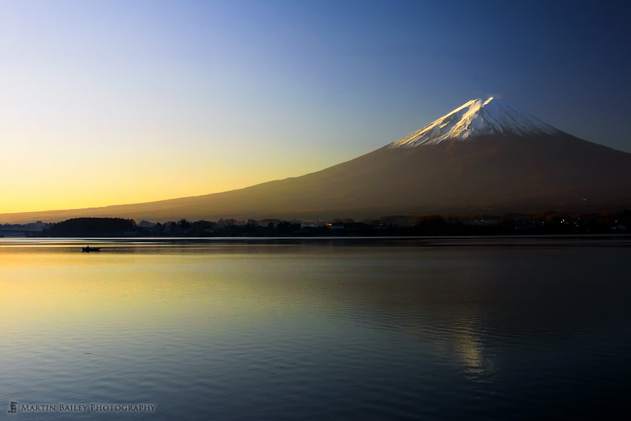 Photograph Mount Fuji at Dawn by Martin Bailey on 500px