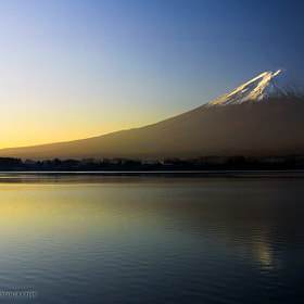 Mount Fuji at Dawn by Martin Bailey (martinbailey)) on 500px.com