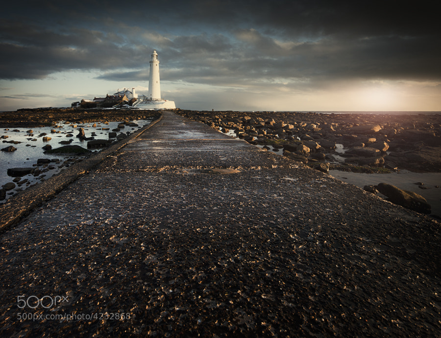 St Marys lighthouse, Newcastle Upon Tyne.