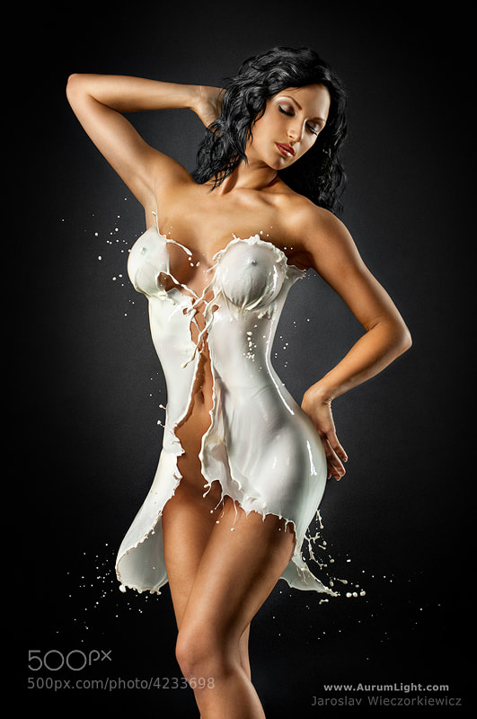 Photograph The Milky Corset by Jaroslav Wieczorkiewicz on 500px