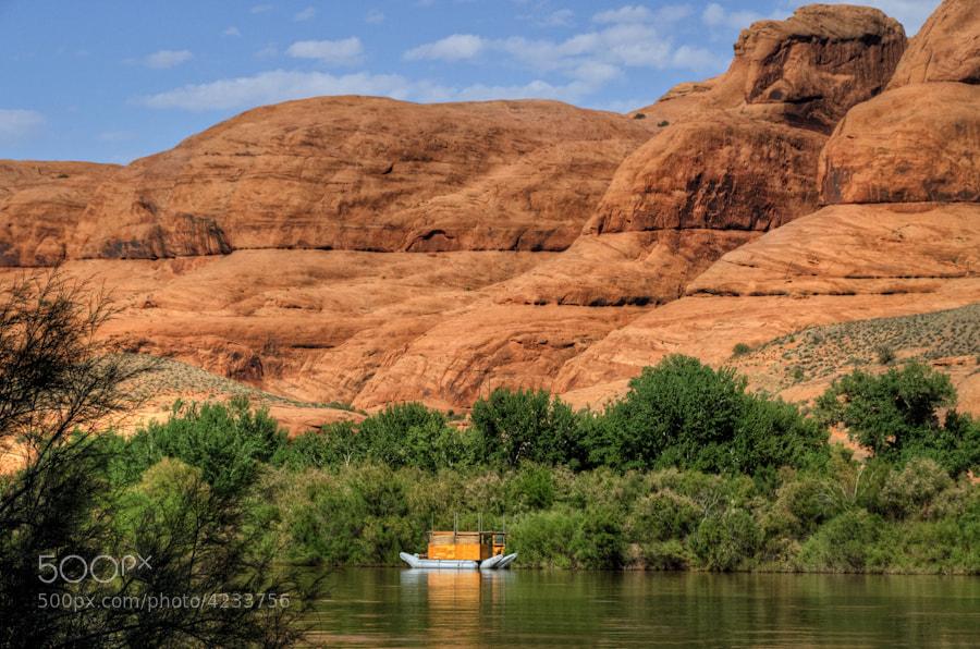 Photograph Houseboat by Len Saltiel on 500px