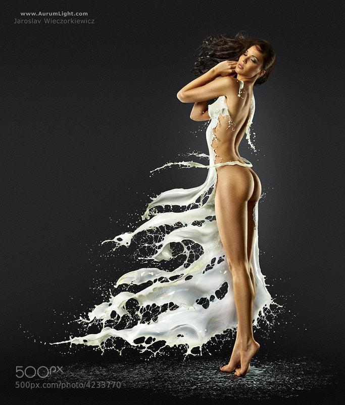 Photograph The Milky Gown by Jaroslav Wieczorkiewicz on 500px