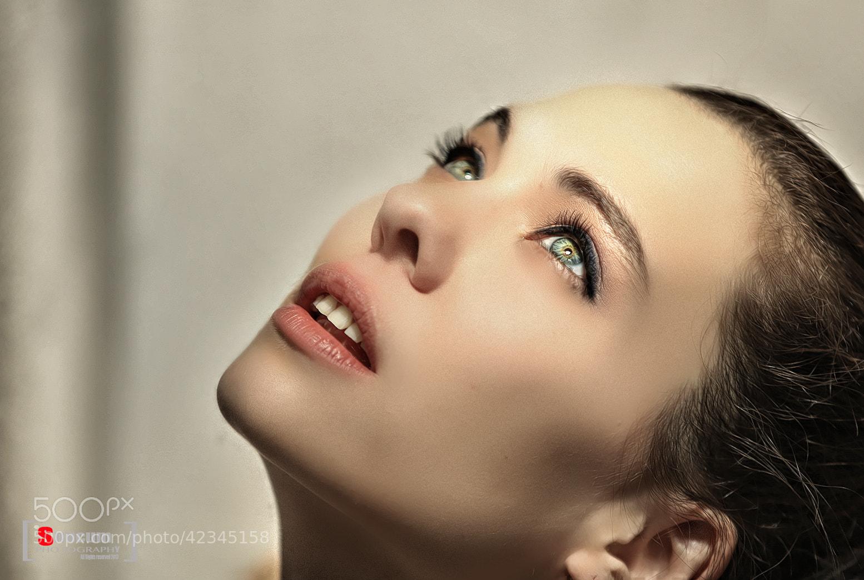 Photograph Nadine's Eyes by Stevie Nucum on 500px