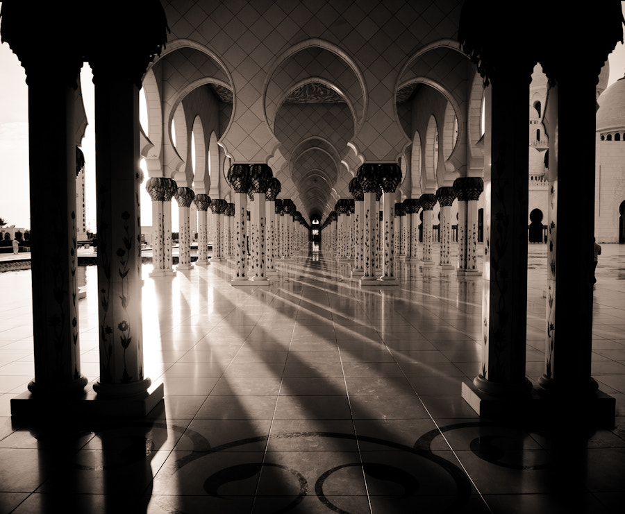 Photograph Shadow lines, Sheikh Zayed Mosque by Nasser Alkhlaifi on 500px