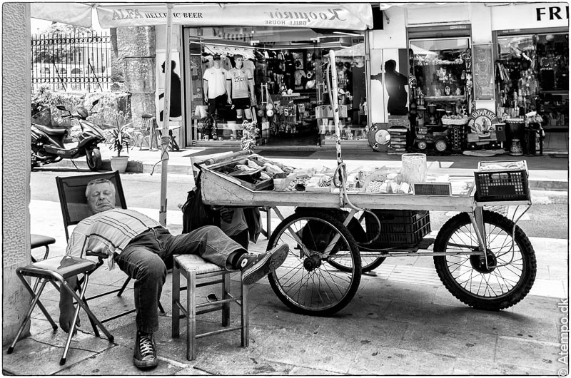 Dozing... Athens View no. 5