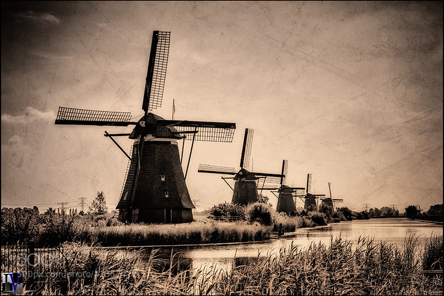 Photograph Kinderdijk by Luc V.. on 500px