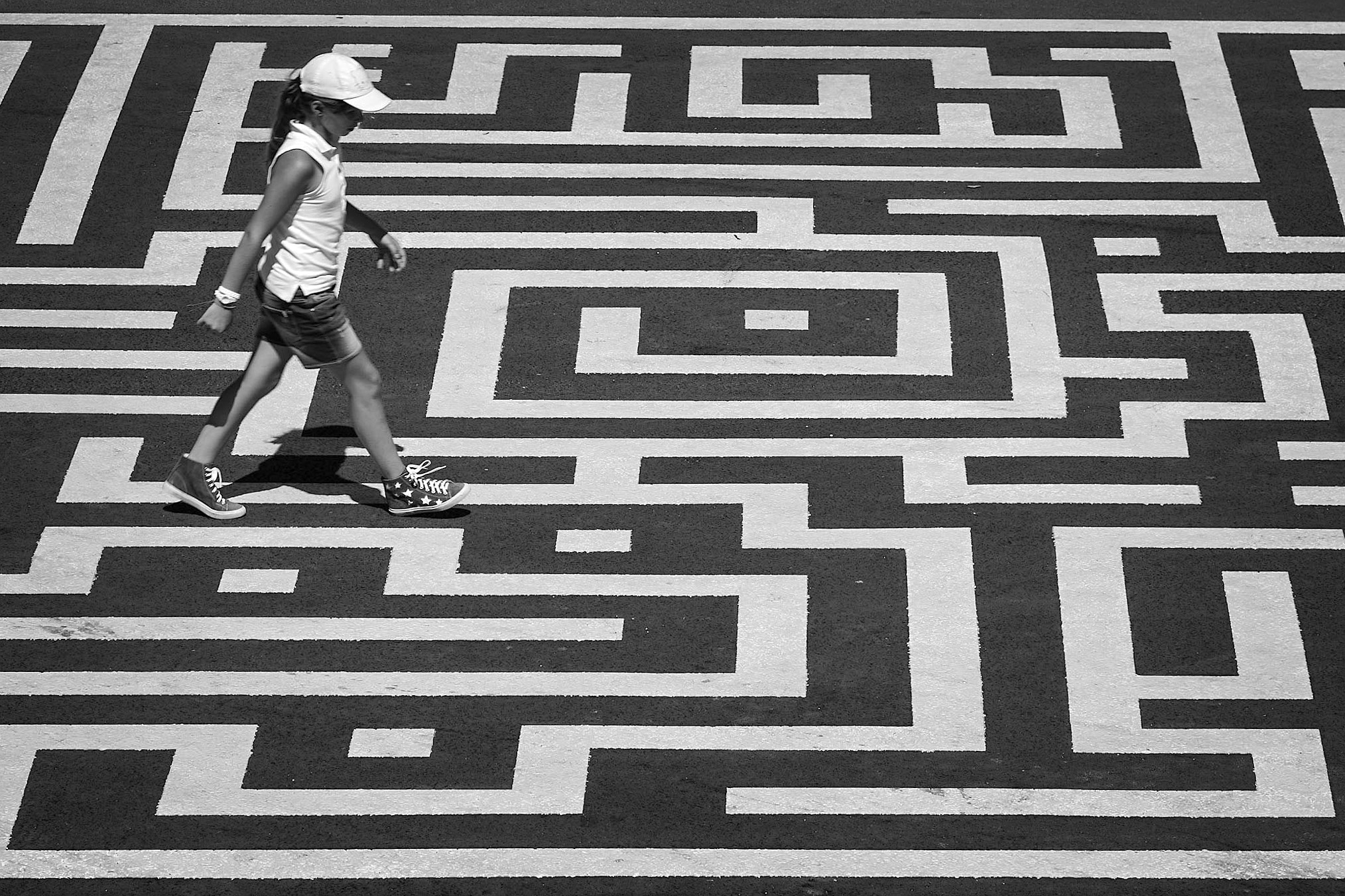 Photograph Finding her own way by Laurence Penne on 500px