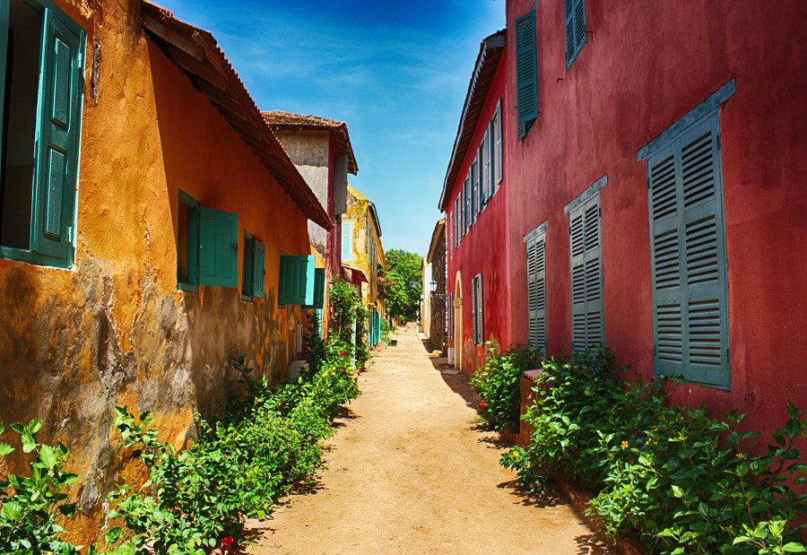 Photograph Gorée - Colonial houses by Alex ADS on 500px