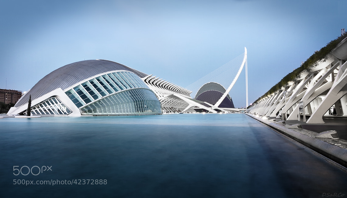 Photograph City Of Arts & Sciences I by Diego SaRCo on 500px