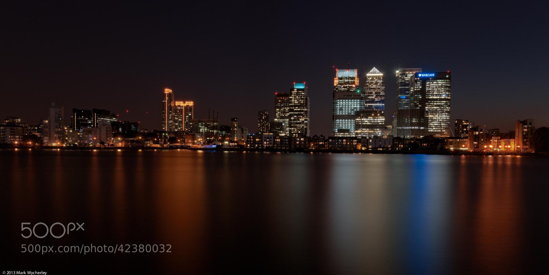 Photograph Night wharf by Mark Wycherley on 500px