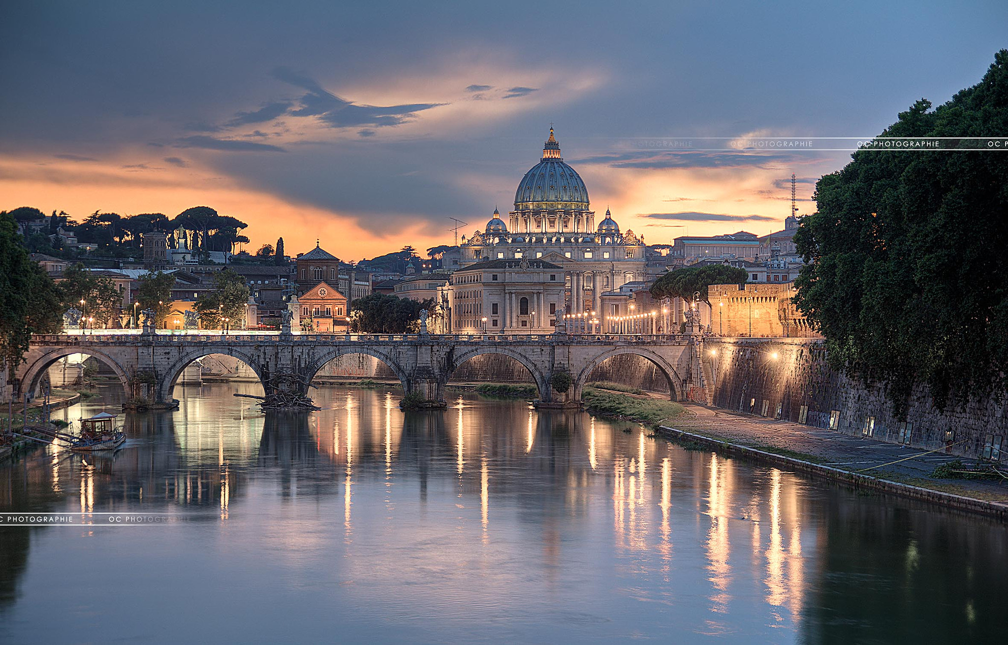 Photograph Night Vatican by OC Photographie on 500px