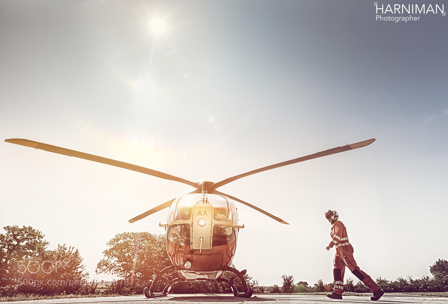 Photograph Air Ambulance by Nigel Harniman on 500px