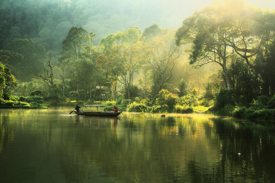 Photograph Beauty of Situ Gunung by keril doank on 500px