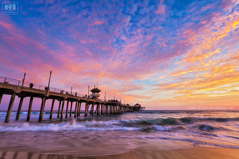 Photograph The Sky, The Pier and the Waves! by Nhut Pham on 500px