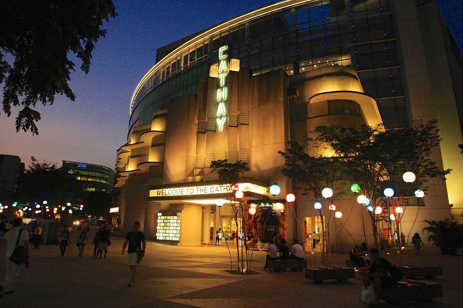 Cathay Cineplex (of Old and New)