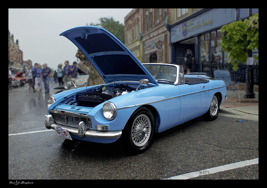 Early MGB Roadster