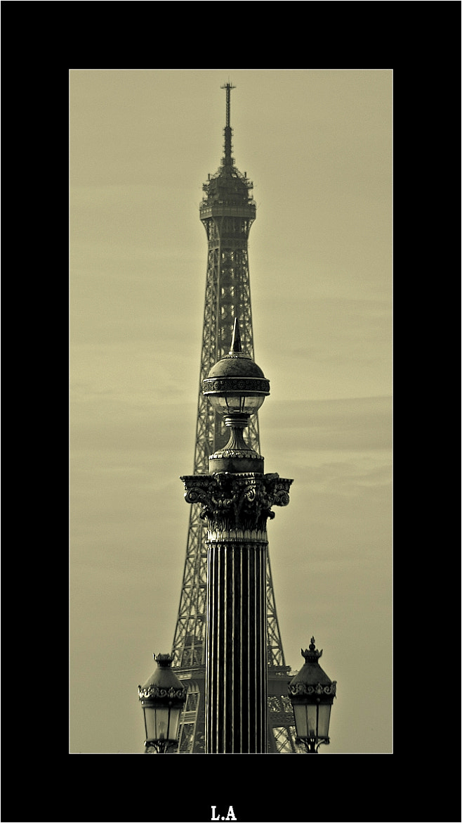 Photograph The column and the Tower by Loïc Auffray on 500px