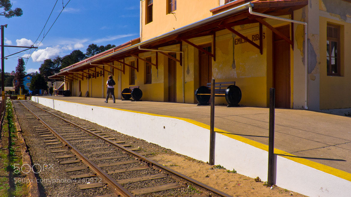 Photograph old train station by Pedro Souza on 500px